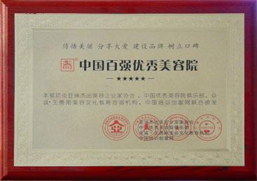 中国百强优秀美容院